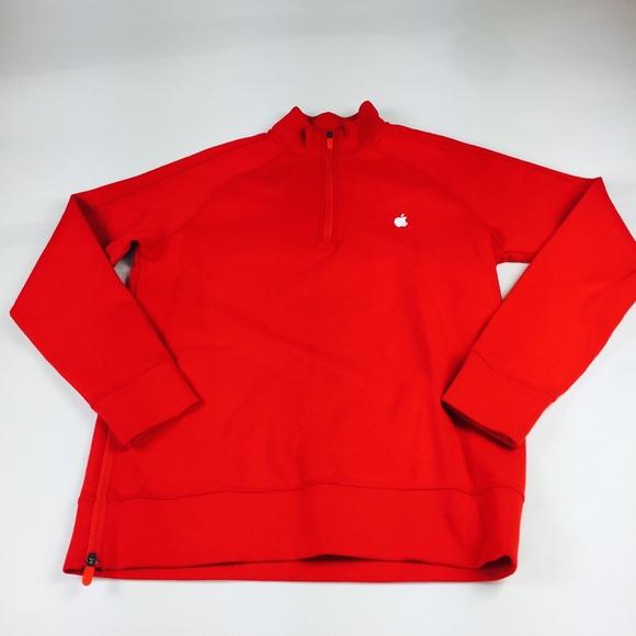 Employee Men S SweatersStore Zip 12 Apple Sweater Red Poshmark SMUVzqpG